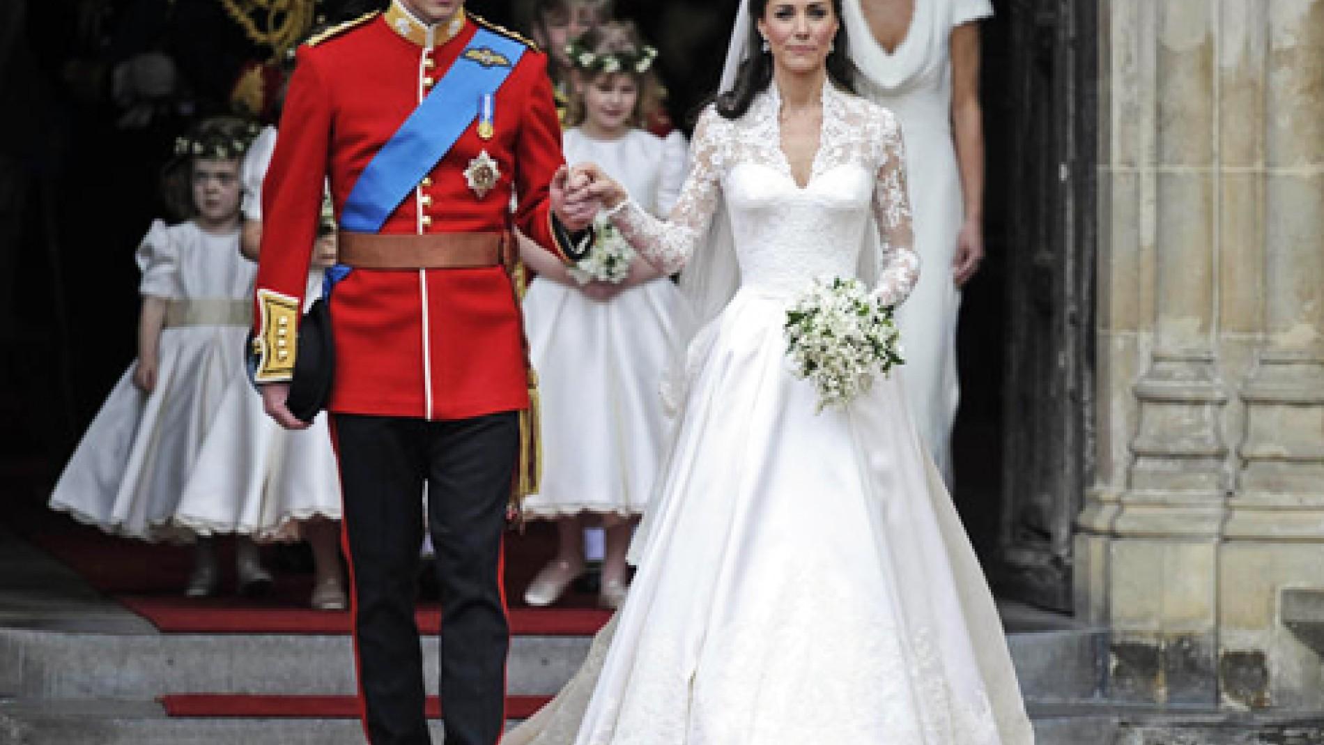Großbritannien: Kates Hochzeitskleid von Sarah Burton entworfen ...