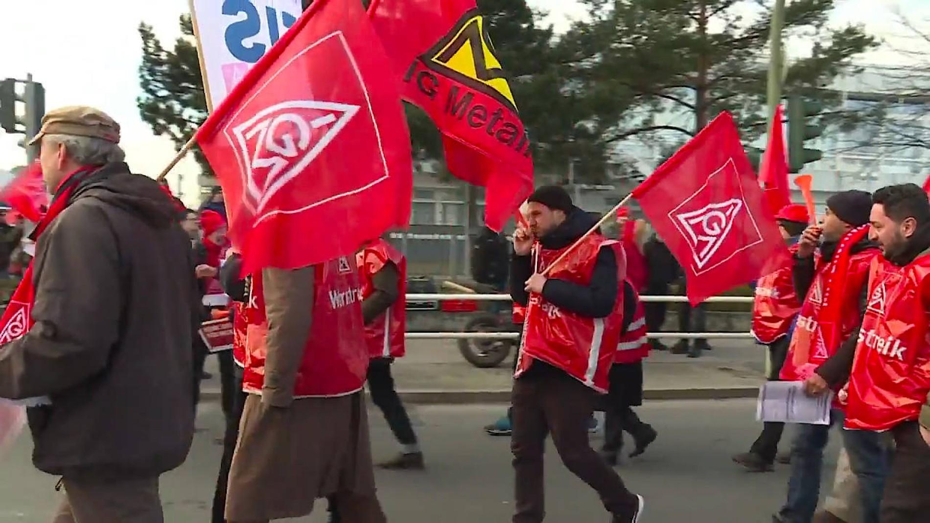 streik ig metall 2019
