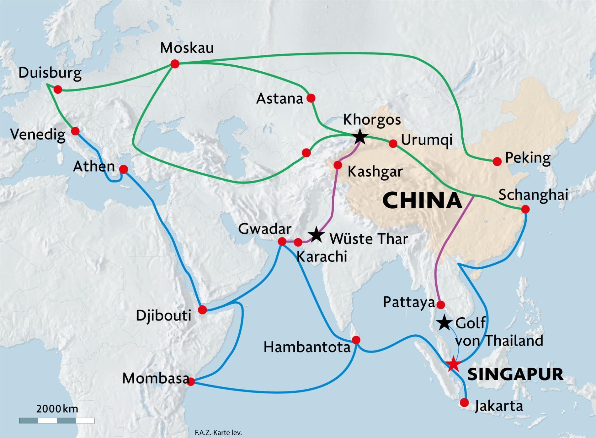 Landkarte Asien Ohne Namen.Seidenstrasse Chinas Langer Weg Nach Westen