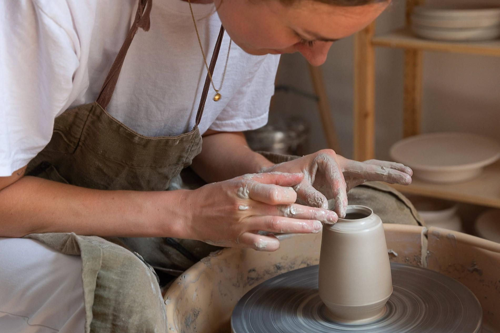 Top Zu Besuch im Töpfer-Atelier: Keramik ist der neue Trend XX59