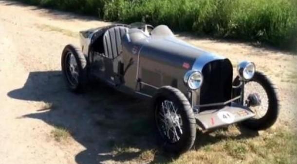 Seifenkisten Bugatti Aus Holz Technik Motor Faz