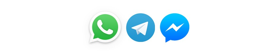 News per Whatsapp, Telegram und Messenger