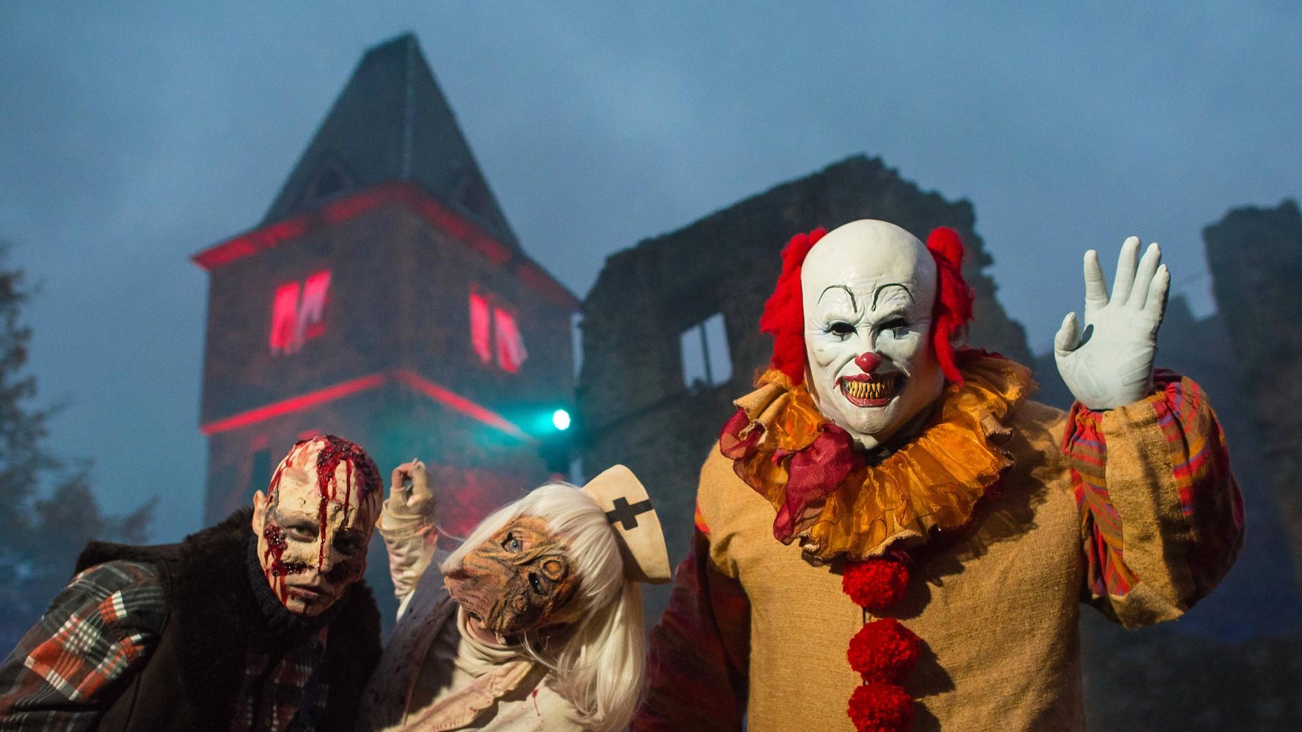 Burg Frankenstein Gruselfest Zu Halloween