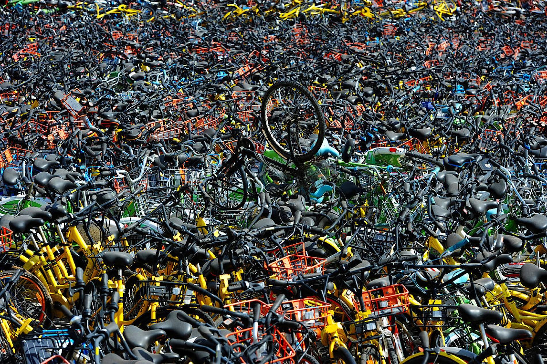 Chinas Fahrradfriedhöfe Die Fahrräder Die Niemand Haben Möchte