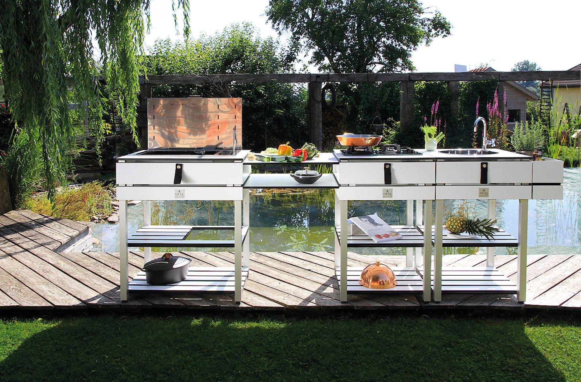 Outdoor Küche Edelstahl Optik : Outdoor küchen koch komm raus