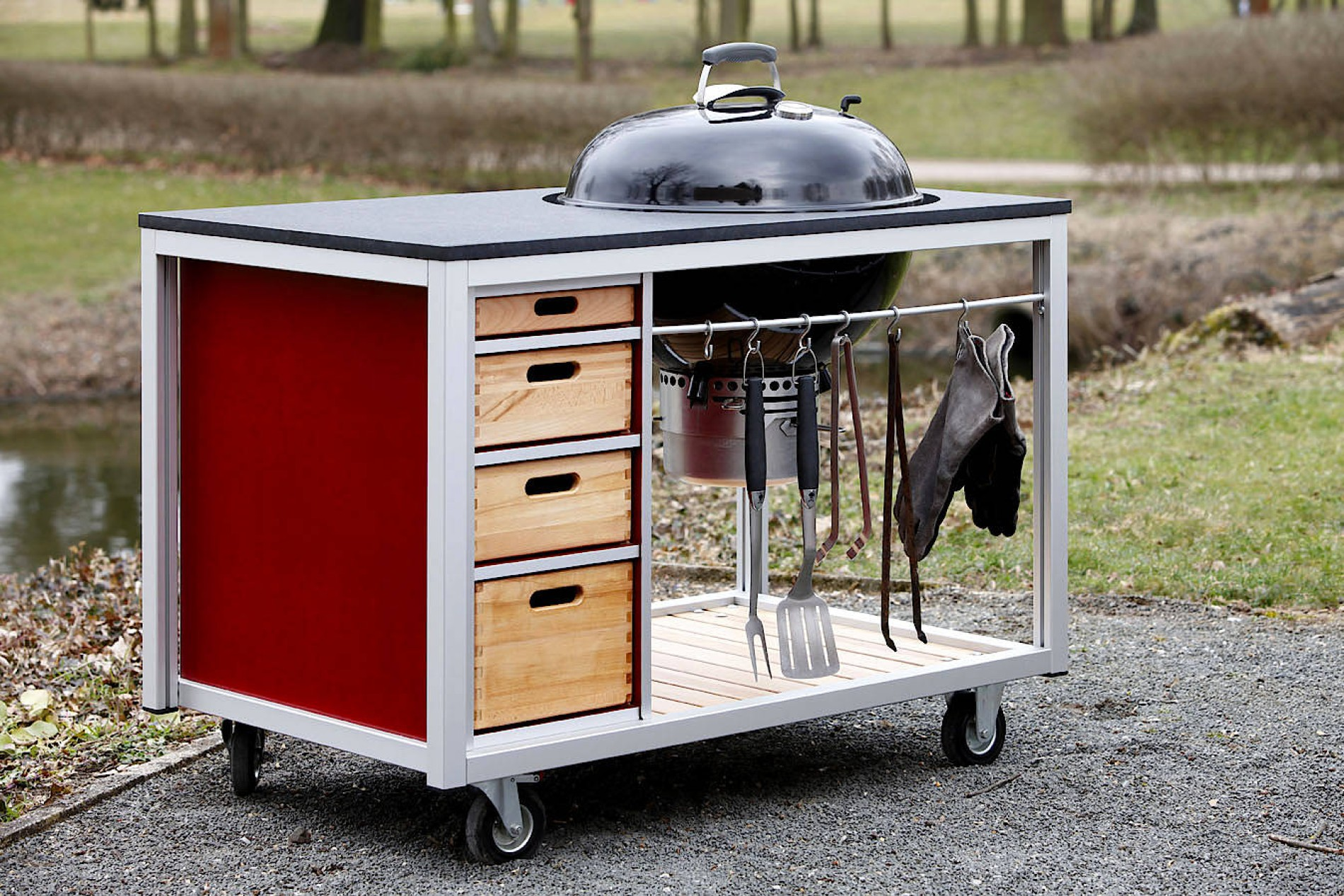 Outdoor Küche Edelstahl Quad : Outdoor küchen koch komm raus
