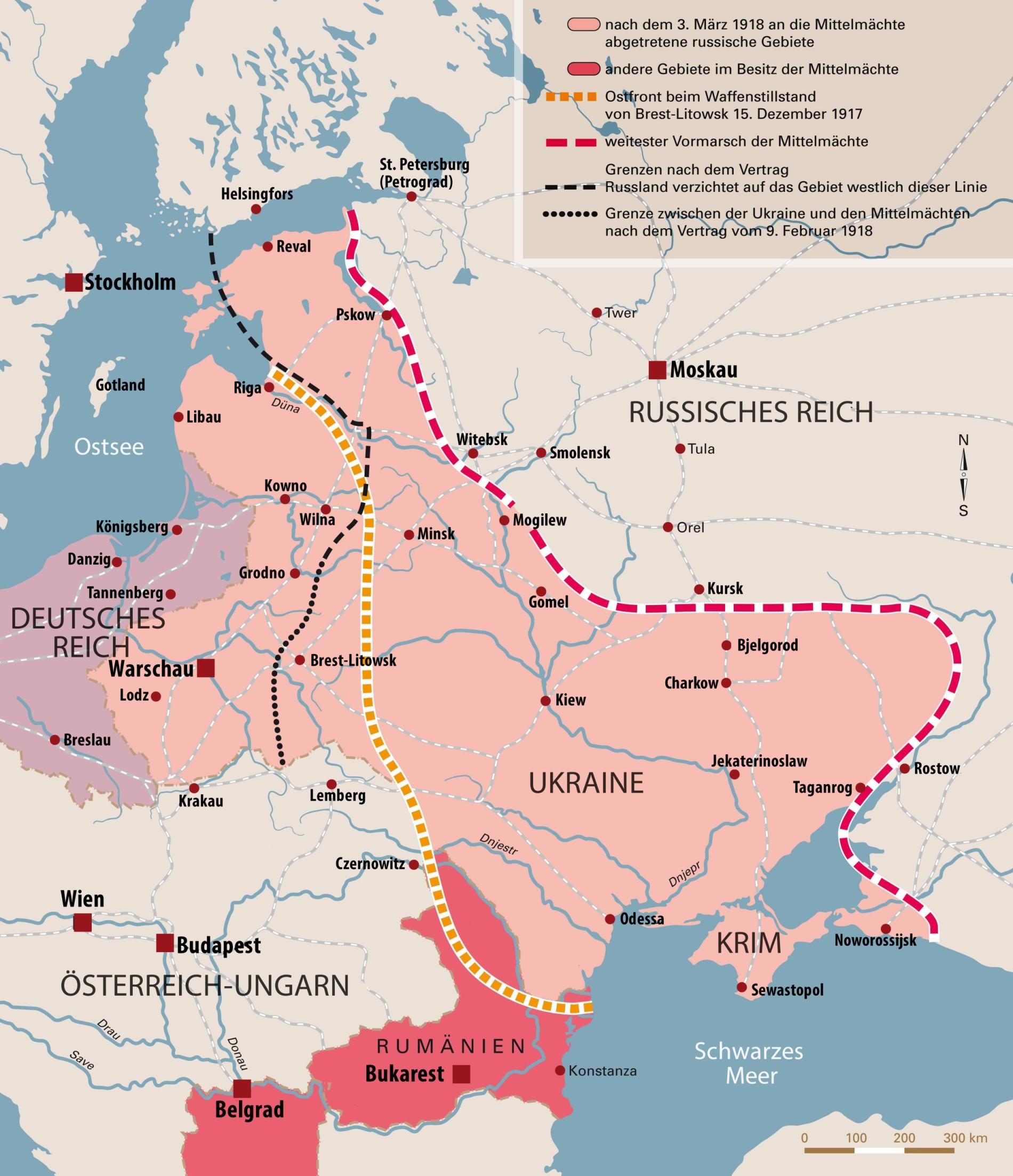 Karte Deutsches Reich 1914.Erster Weltkrieg Von Brest Litowsk Zum Generalplan Ost
