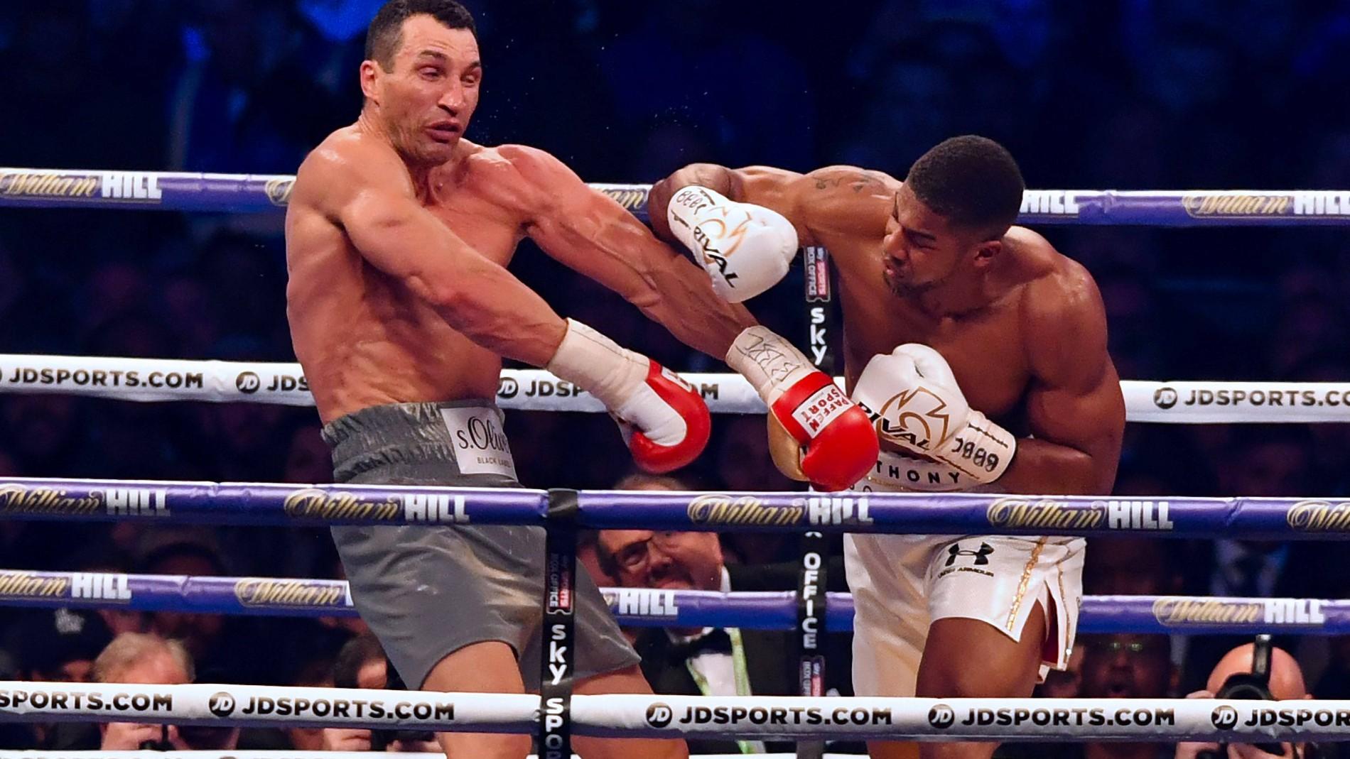Wladimir Klitschko Verliert Box WM Kampf Gegen Anthony Joshua