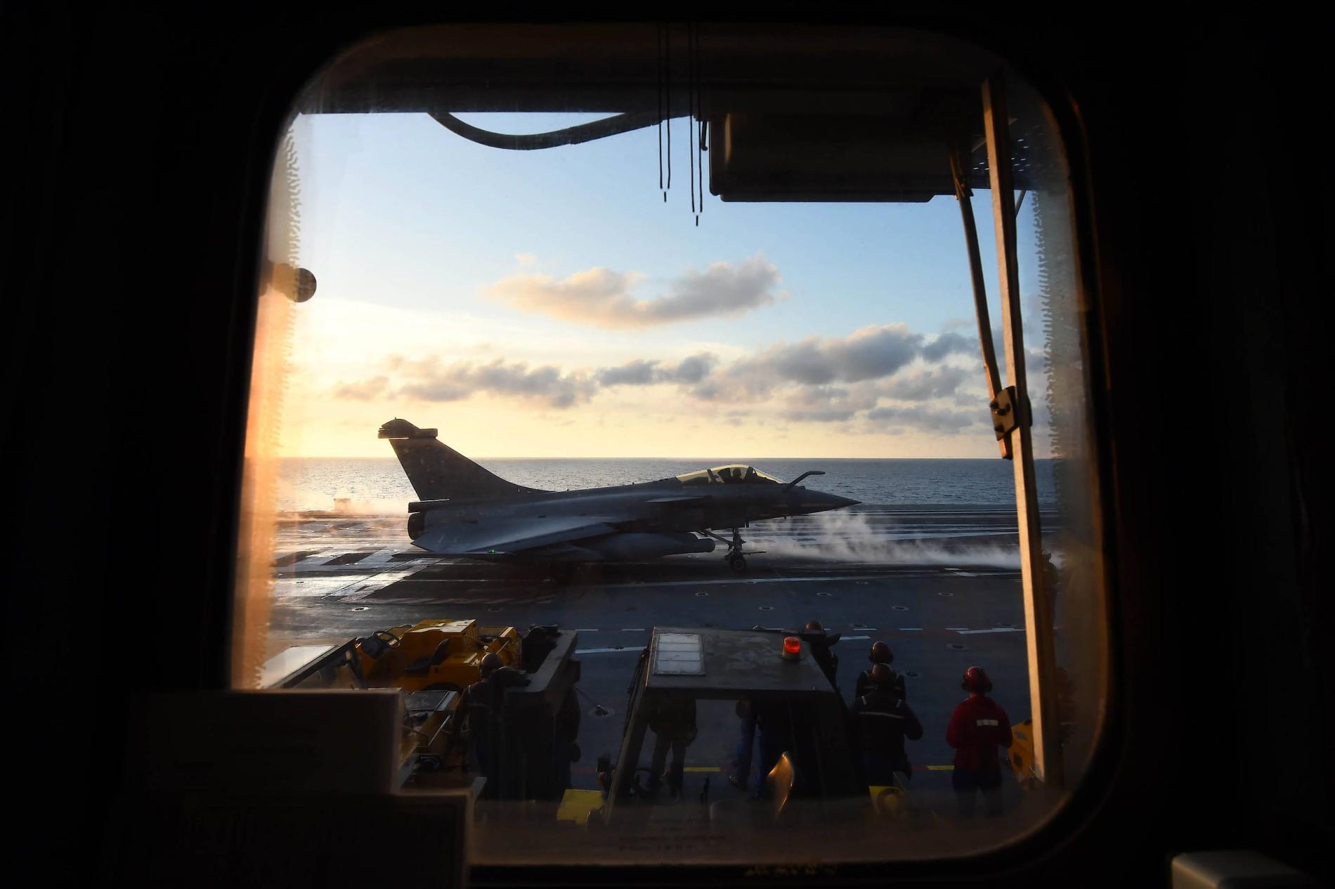 Nur noch Rafale: Seit Frankreich die veralteten Super-Etendard ausgemustert hat, ist das von Dassault produzierte Kampfjet vorherrschend auf dem Flugzeugträger – bis der neue deutsch-französische Fighter kommt.
