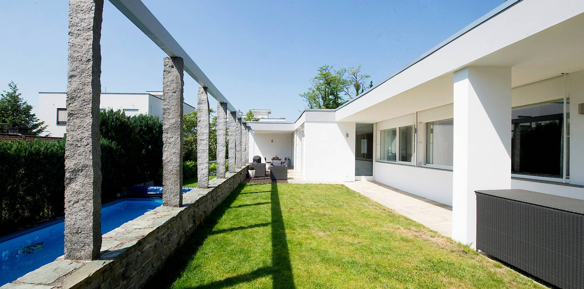 Bauhaus Stiel bauhaus villa in wiesbaden haus gesucht ikone gefunden