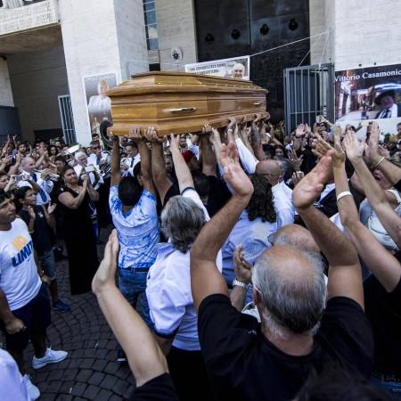Rom: Große Beerdigung für Mafiaboss