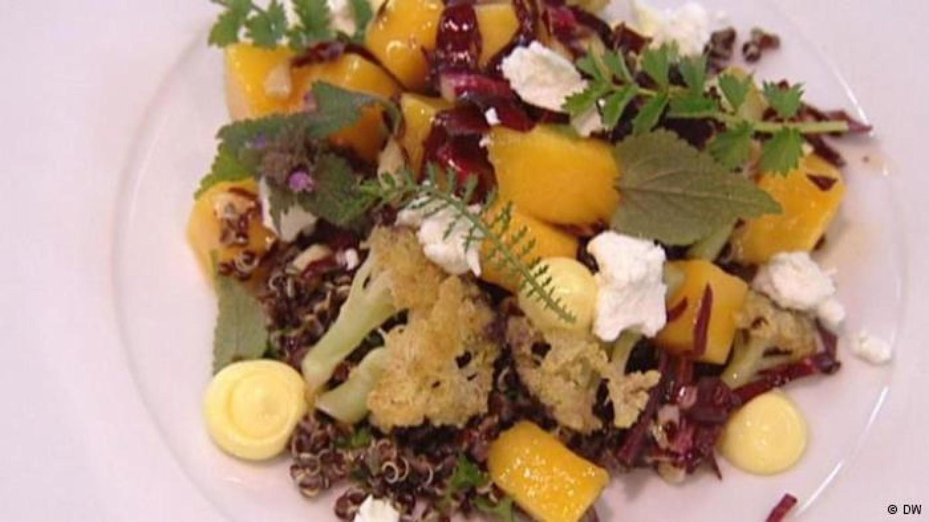 Vegetarische Sommerküche Paul Ivic : Vegetarische küche: quinoa salat aus Österreich essen & trinken faz