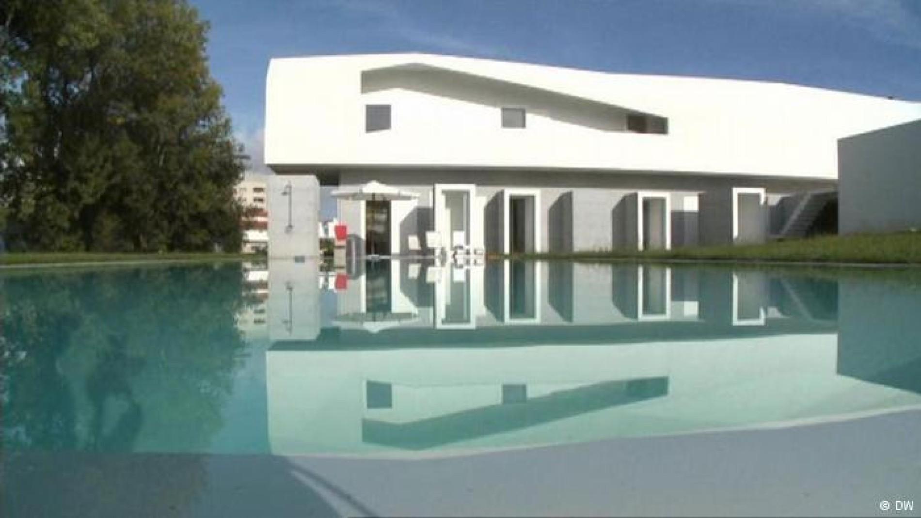 Architekt Alvaro Siza Wohnen In Einer Beton Villa Porto