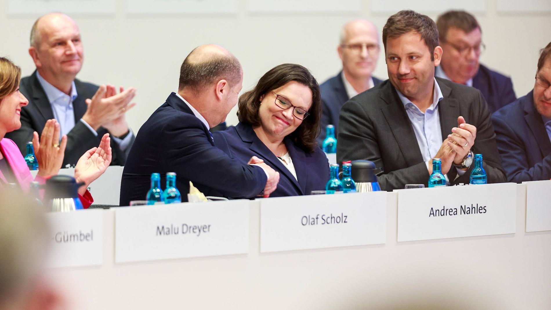 Nach Der Wahl Von Nahles Die SPD In Der Sackgasse