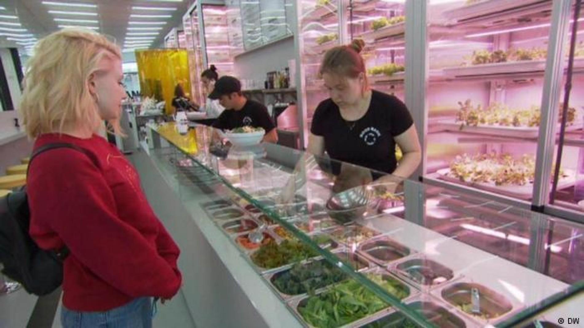 Junge Berliner Restaurants Wo Der Salat Hinter Der Theke Wachst