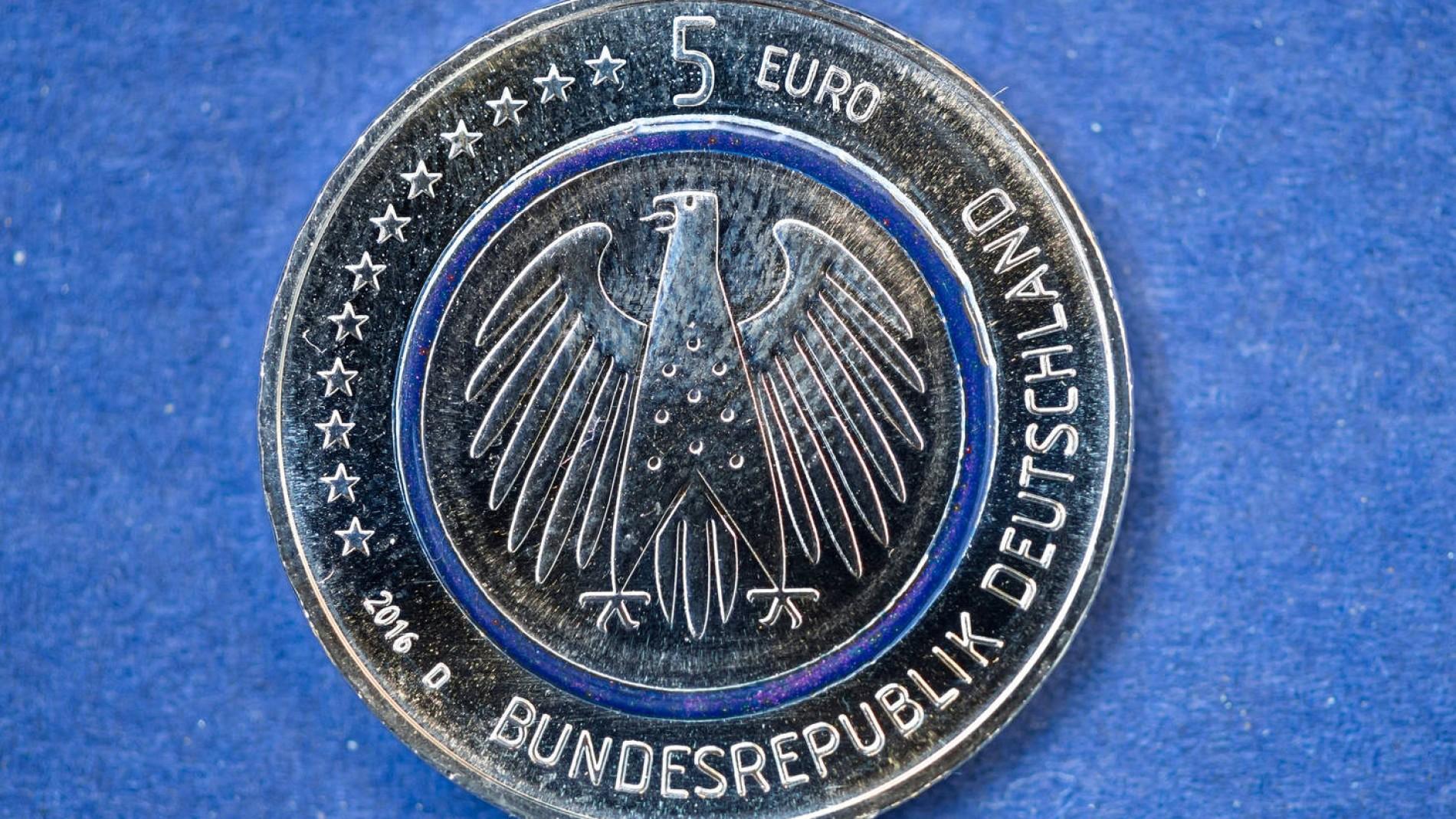 5 Euro Sammlermünze So Werden Münzen Fälschungssicher